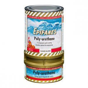 Βερνίκι Διαφανές Πολυουρεθάνης Epifanes, 2 Συστατικών, (λούστρο ή Satin)με Φίλτρο UV