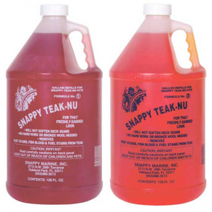 Καθαριστικό & Γυαλιστικό Snappy Teak-NU, 1gal