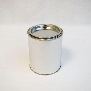 Πολυεστερικό Χρώμα - Top Coat Ορθοφθαλικό Λευκό 1kg
